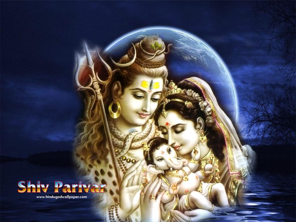 Indian God Shiv Parivar Wallpapers Download