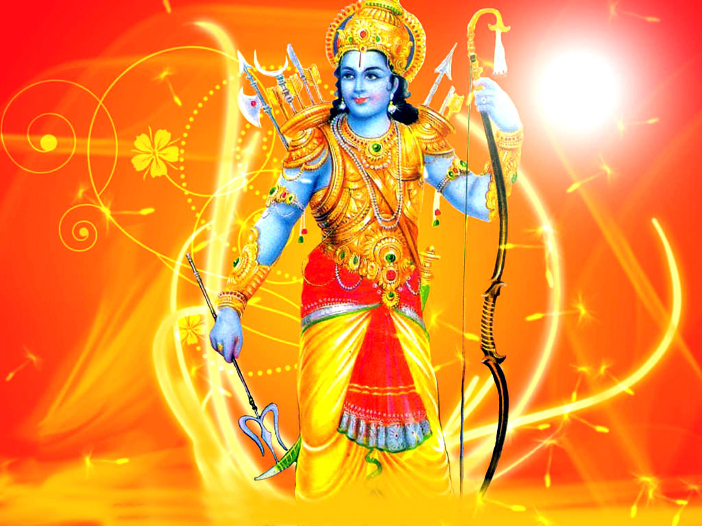 God Sri Rama Wallpaper Download