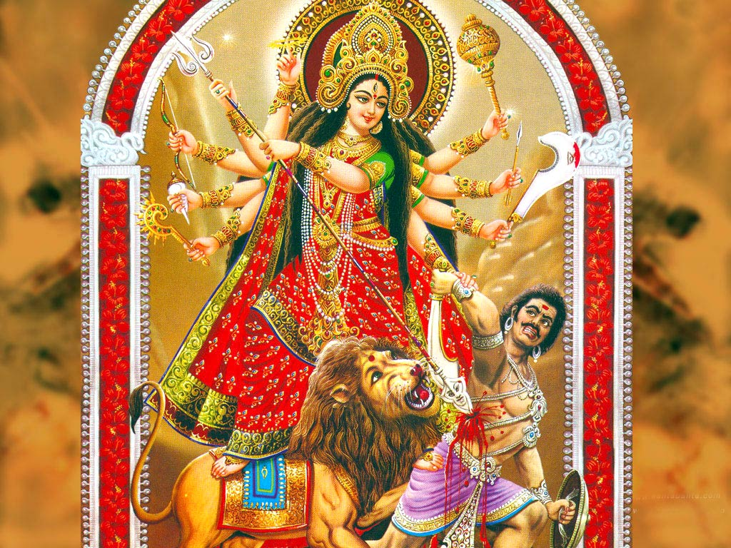 Animated Goddess Durga Wallpapers
