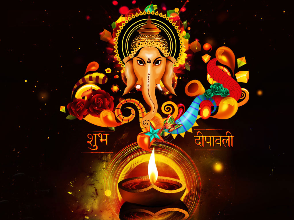Ganesh Laxmi Diwali Wallpaper