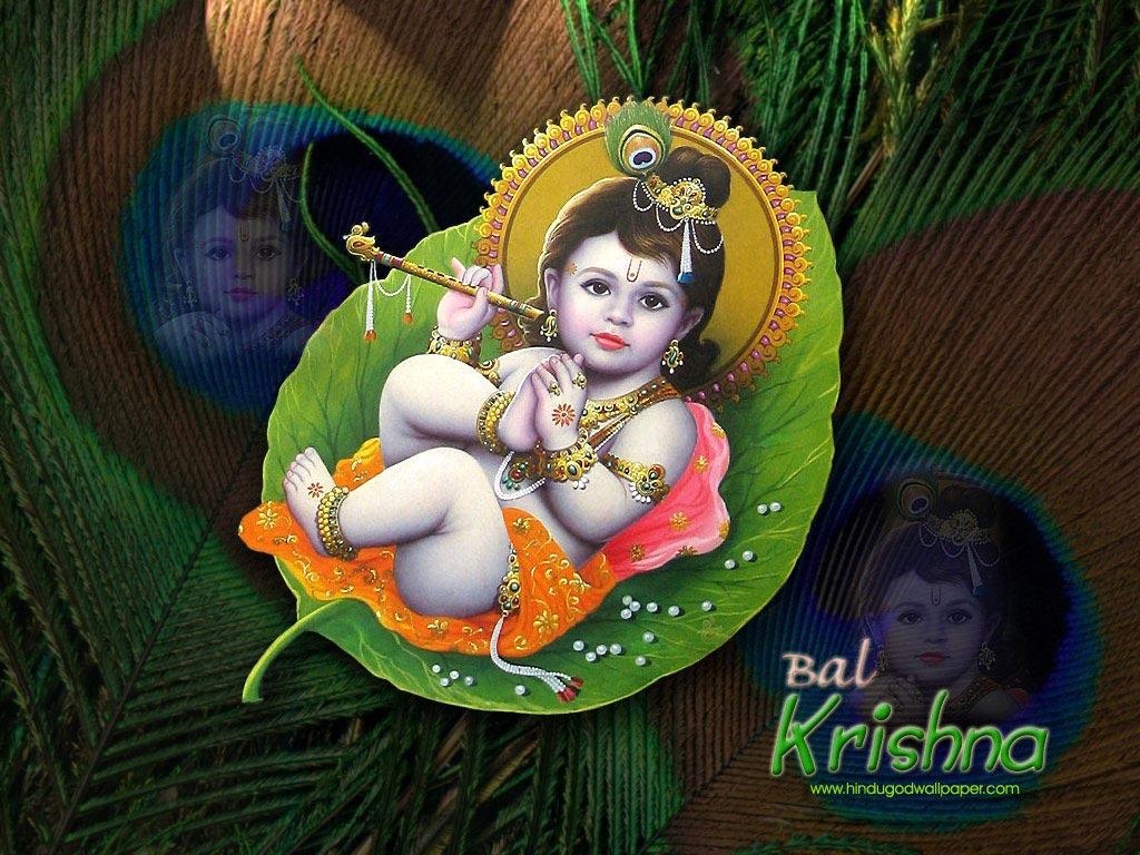 Baby Krishna Wallpaper For Desktop