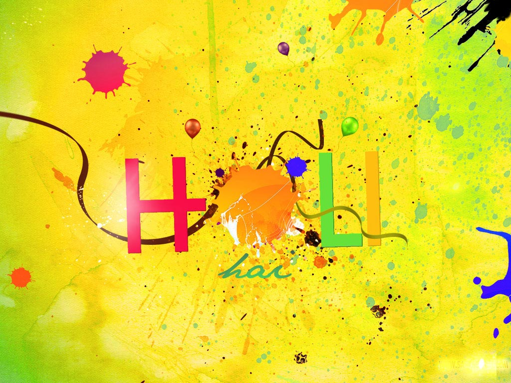 Happy Holi Wallpaper For PC Download
