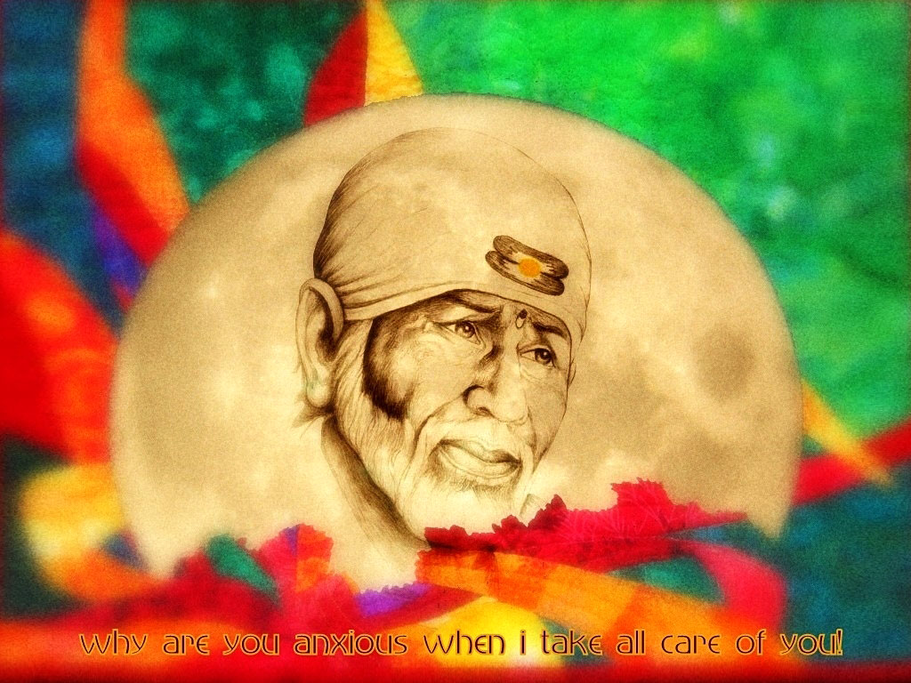 Free Sai Baba Wallpaper Full Size