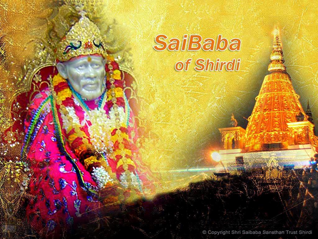 Shirdi Ke Sai Baba Wallpaper Free Download