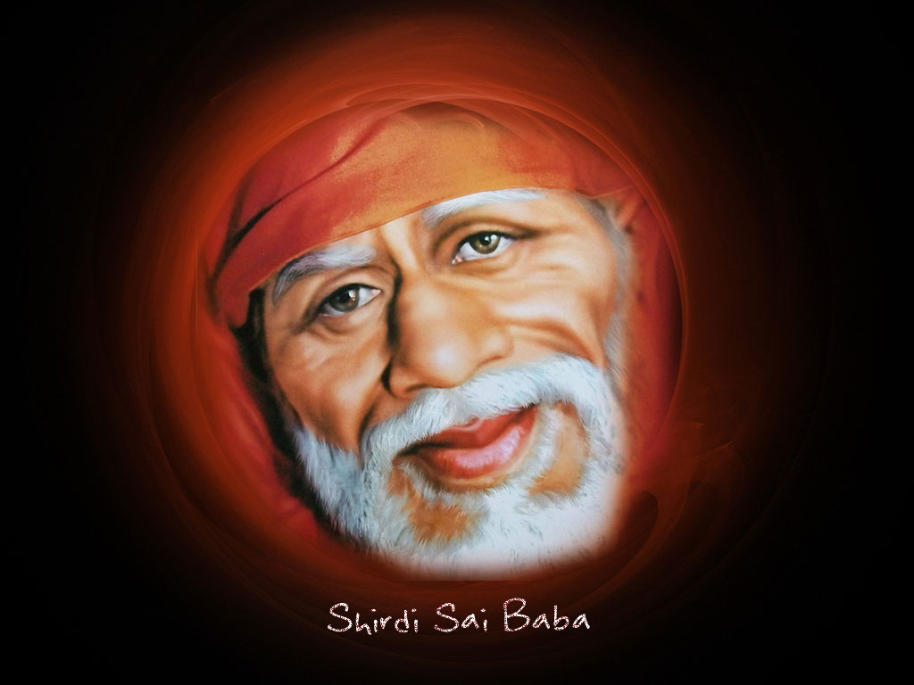 Shirdi Sai Baba Full Screen Hd Wallpapers Sai Baba Images Free