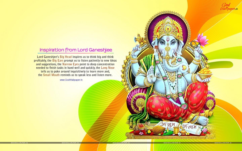 God Vinayagar Hd Wallpaper For Desktop