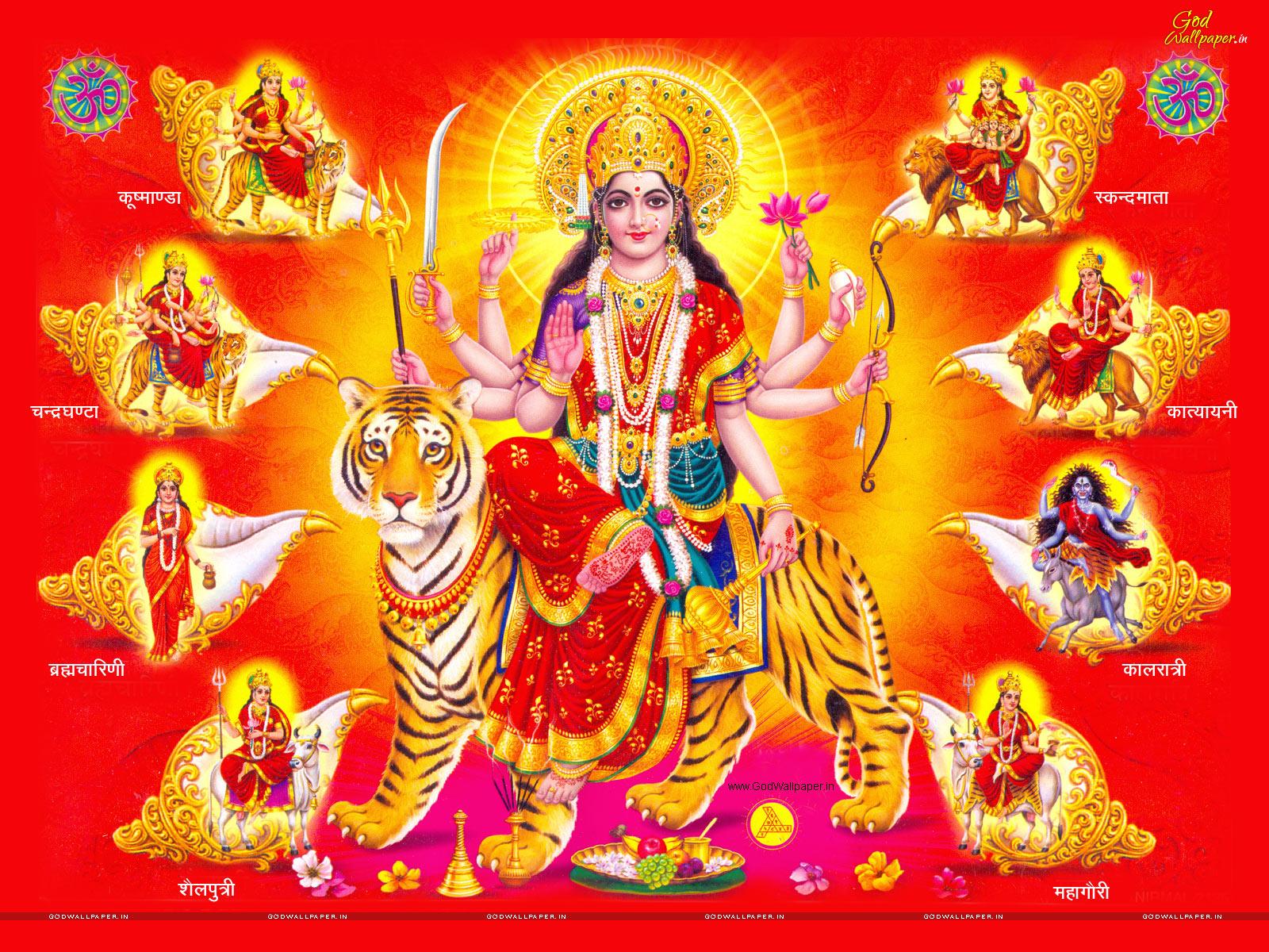 Nav Durga Hd Wallpaper Free Download For Pc