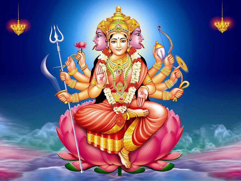 Gayatri Mata Wallpapers Free Download