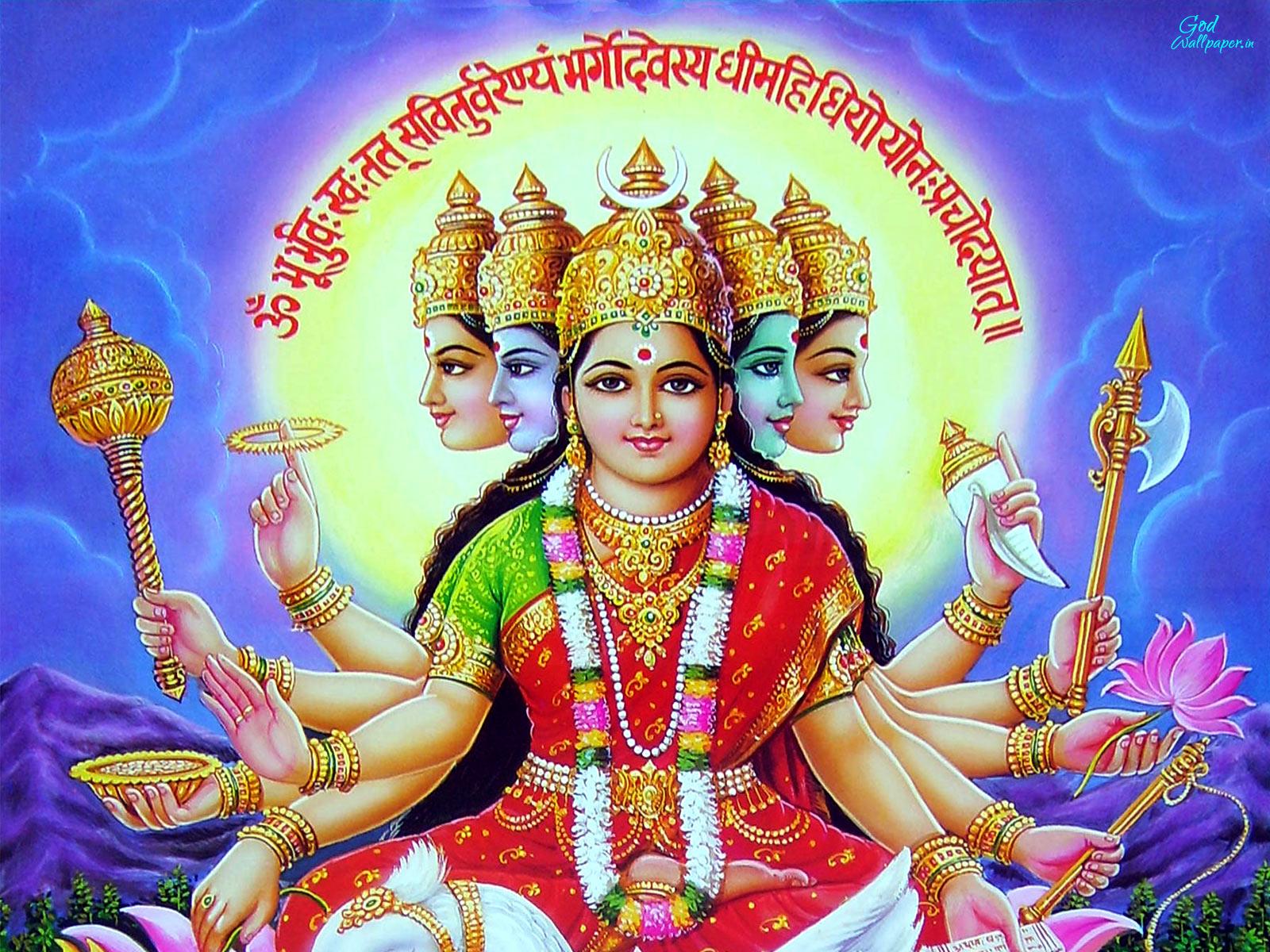 Gayatri Mata Hd Wallpapers Free Download