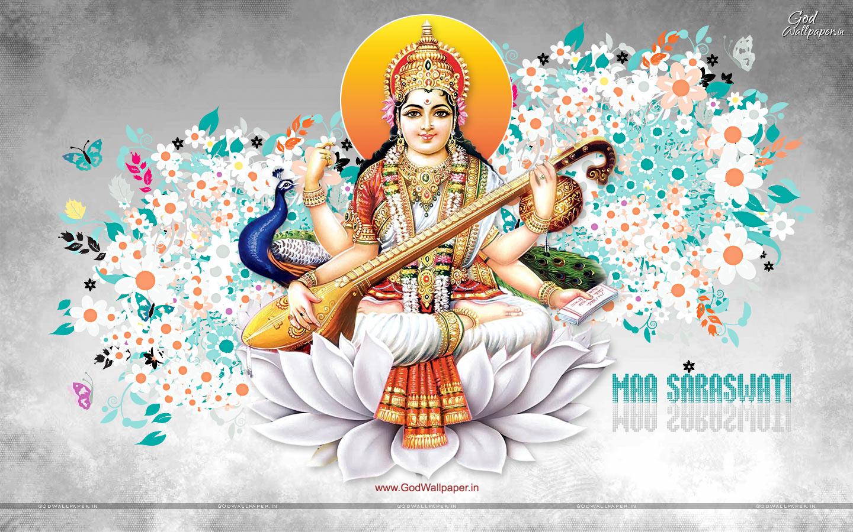 Beautiful Saraswati Hd Wallpapers Free Download