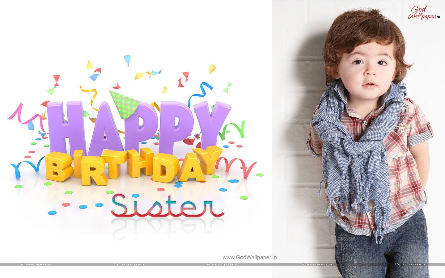 Happy Birthday Wallpaper For Sister Download