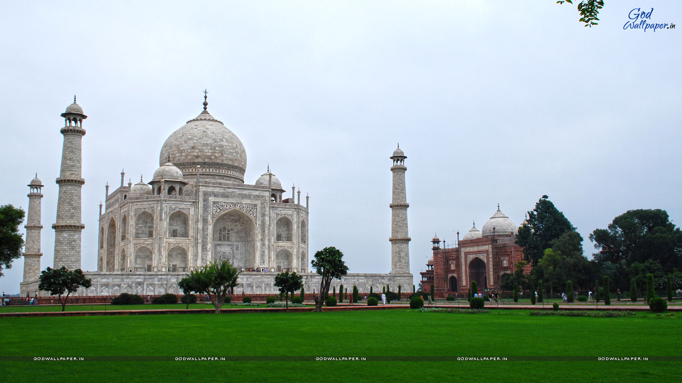 3d Taj Mahal Desktop Wallpaper Free Download