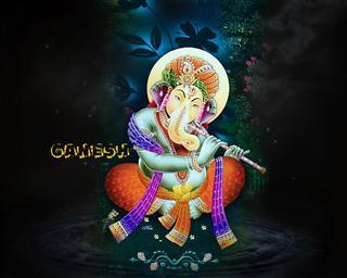Forms of Ganesha Mobile Wallpaper