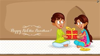 Happy Raksha Bandhan Mobile Wallpaper