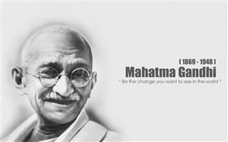 Gandhi Quotes Mobile Wallpaper