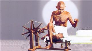 Mahatma Gandhi HD Mobile Wallpaper