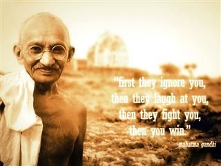 Mahatma Gandhi Mobile Wallpaper